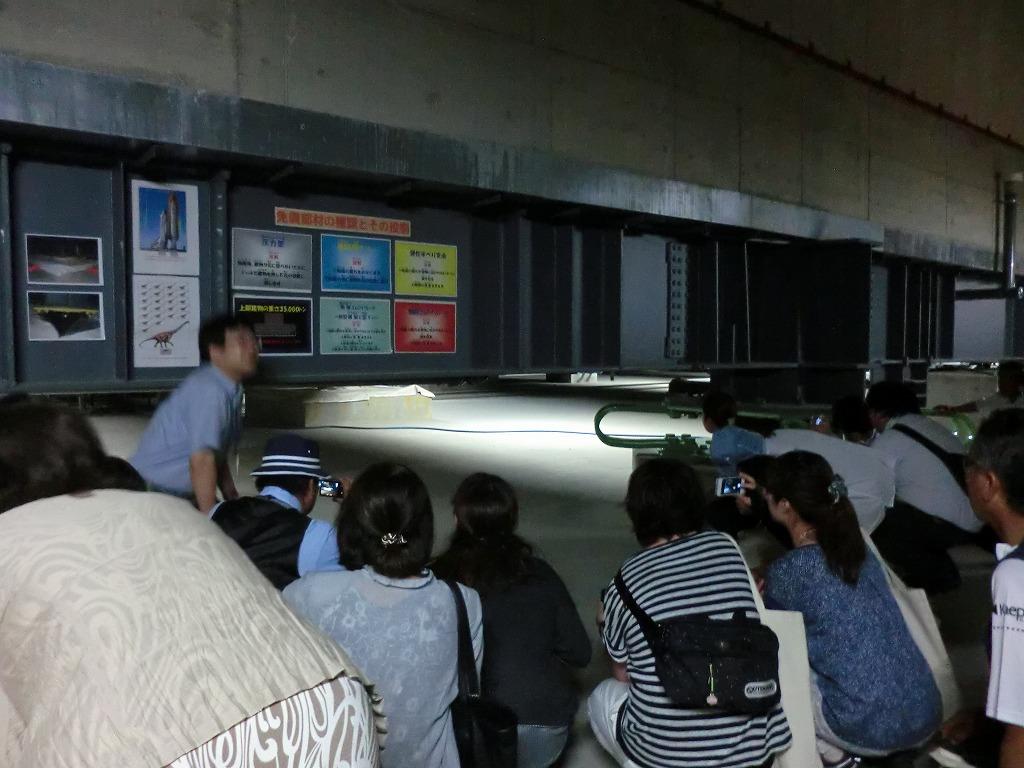 BCP視察で訪問した石巻赤十字病院 免震構造の地下で説明を受ける